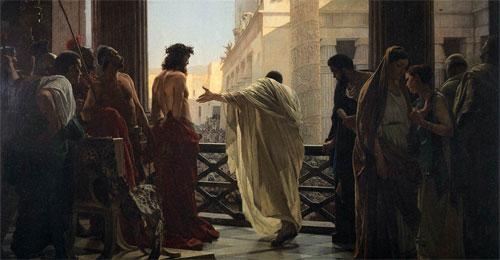 Ecce homo! (Antonio Ciseri, 1871)