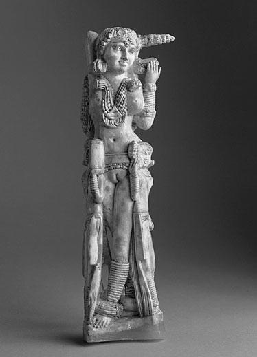Pompejista löytynyt intialaista Lakshmi-jumalatarta esittävä pienoispatsas